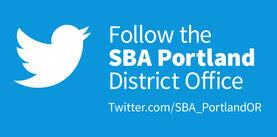 Follow SBA Portland District on Twitter banner