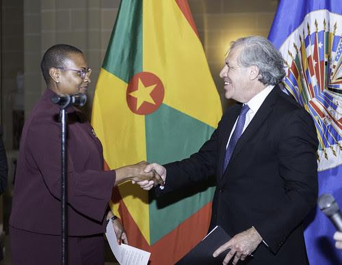 Nueva Embajadora de Grenada ante la OEA presenta cartas credenciales