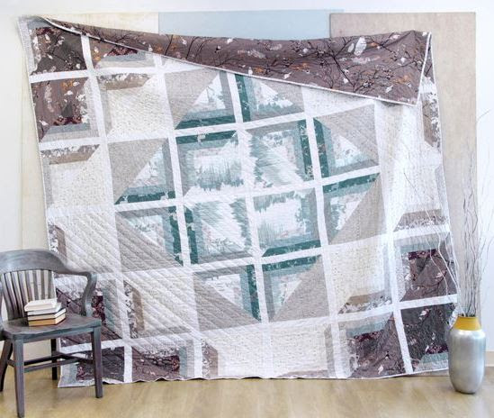 katarina roccella windowscape quilt kit sewing pattern