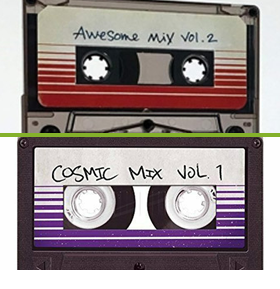 Guardians of the Galaxy Cassettes