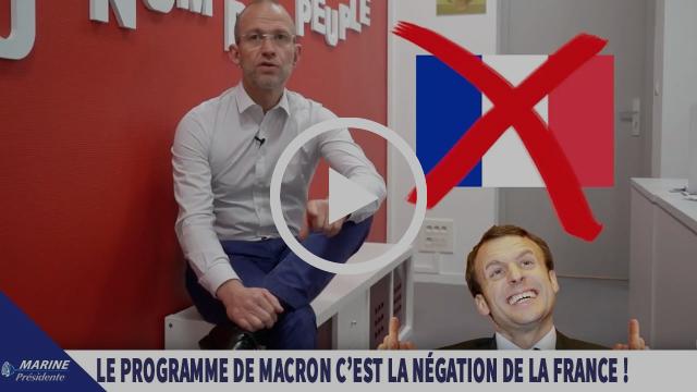 2017, en toute simplicité #15 : « Le programme de Macron, c'est la négation de la France »