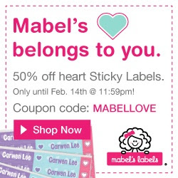 50% Off Heart Sticky Labels at...