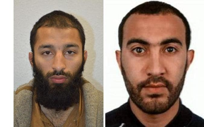 Khuram Butt and Rachid Redouane were the other two terrorists