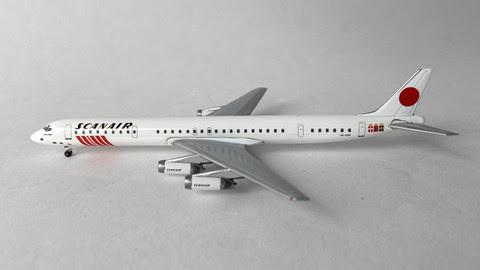 AC419757 | Aero Classics 1:400 | DC-8-63 Scanair SE-DBK