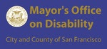 San Francisco Mayor's Office on Disability Logo