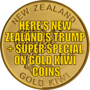 Super Special on Gold Kiwi Coins
