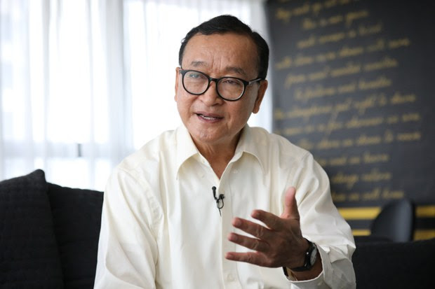 Leader of Cambodia's Banned Opposition Party Would Offer Amnesty to Hun Sen