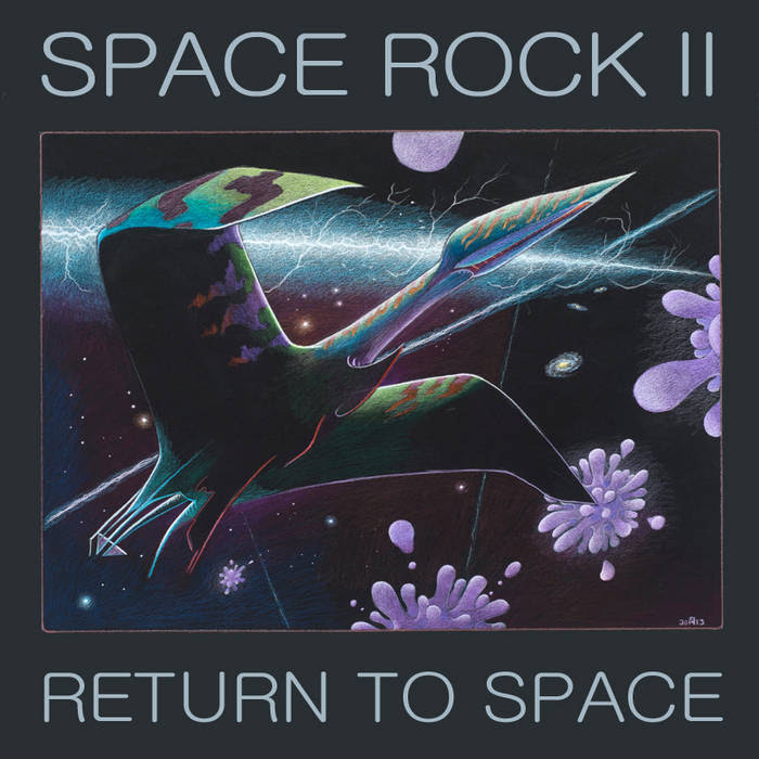 Space Rock II: Return to Space cover art