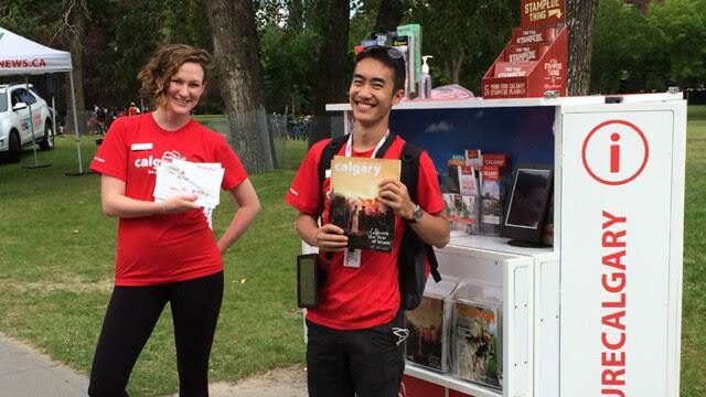 Tourism Calgary Mobile Visitor Kiosk