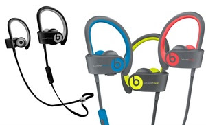 Beats by Dre Powerbeats 2 or 3 Wireless Headphones (Refurbished)