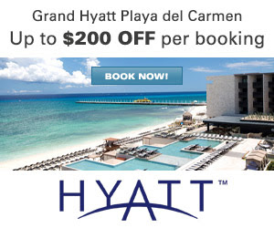 Grand Hyatt Playa del Carmen - Up to $200 OFF per booking