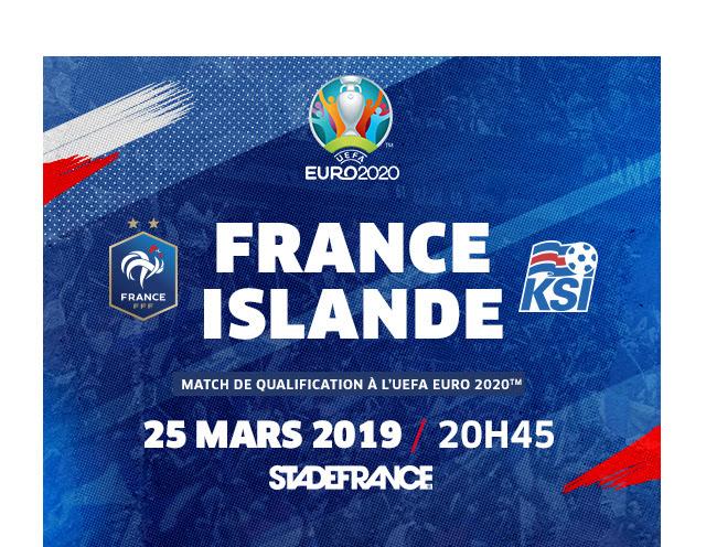 FRANCE / ISLANDE
