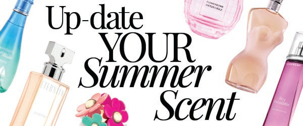Up Date Your Summer Scent