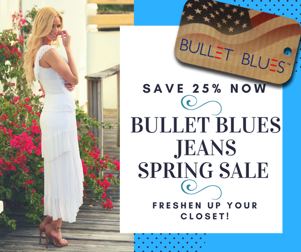 Bullet Blues Spring Fashion Made in USA