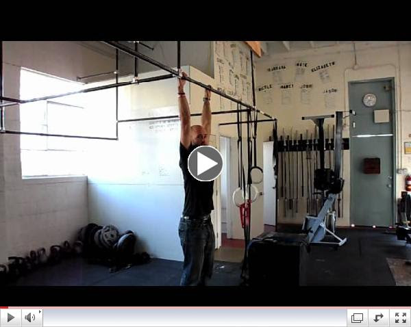 Paradiso CrossFit - Strict Pullups