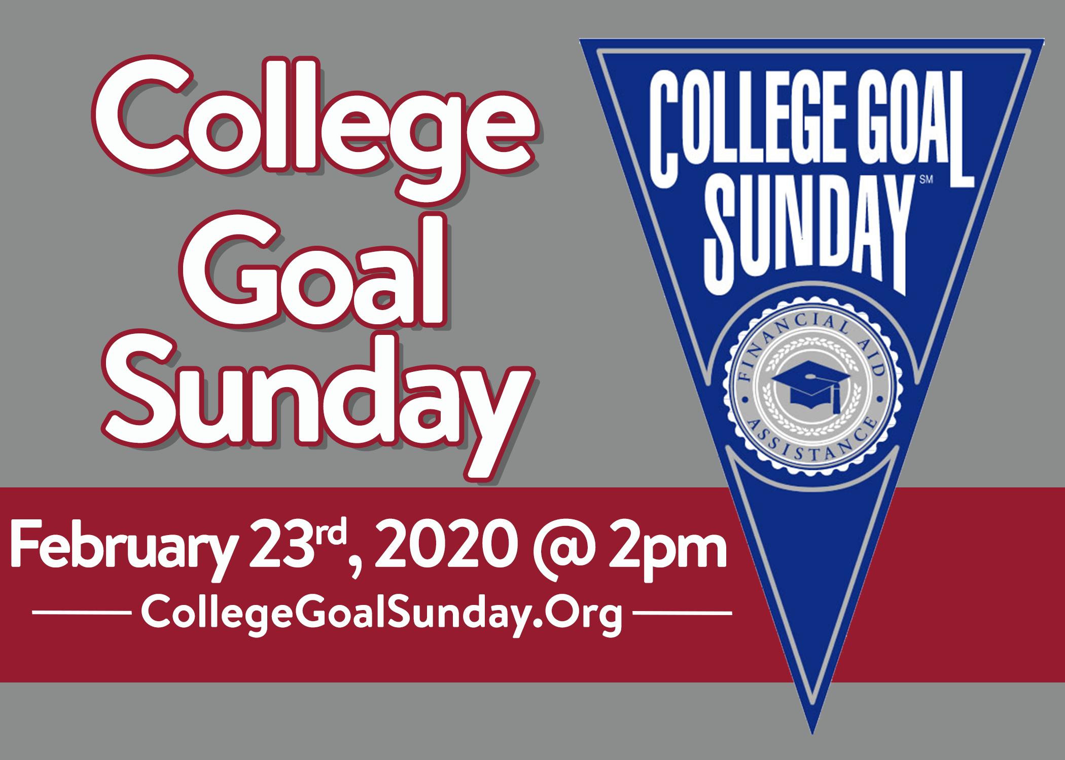 College Goal Sunday - Media Kit