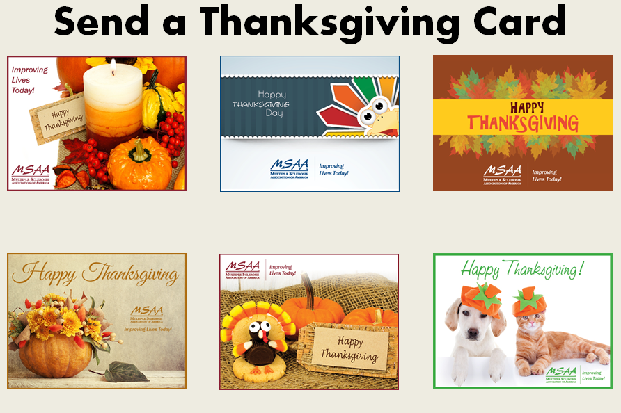 Send a Thanksgiving eCard