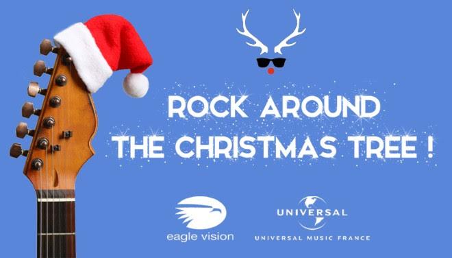Rock around the Christmas trea