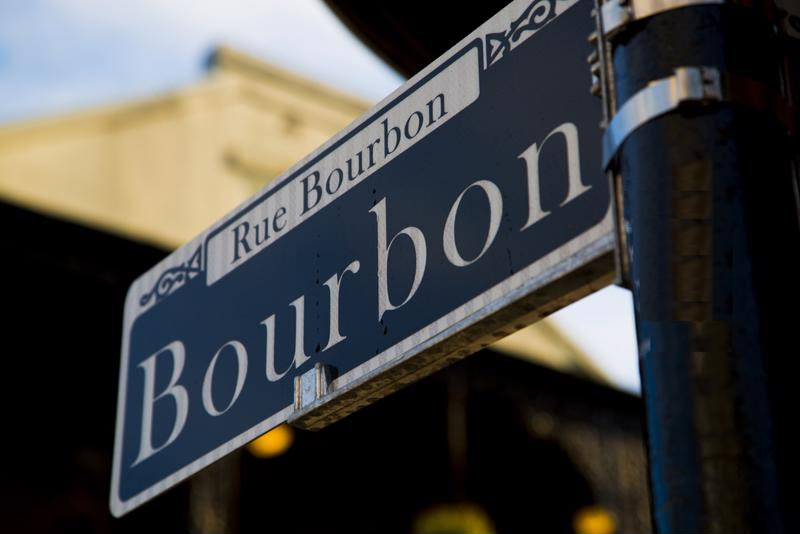 Bourbon Street is the No. 1 place to celebrate Mardi Gras.