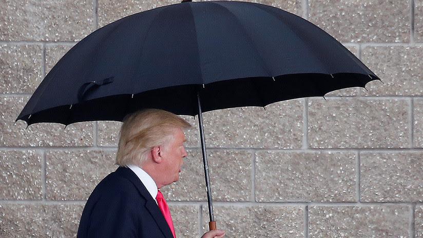 """Trump: """"Con el respaldo de los demócratas haríamos que México se doble como un paraguas"""""""