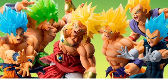 DRAGON BALL BROLY ICHIBAN KUJI FIGURES