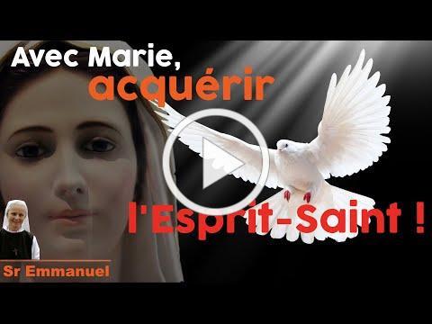 """""""Avec Marie, Acquérir l'Esprit"""" par sr Emmanuel de Medjugorje, avec @NDML"""