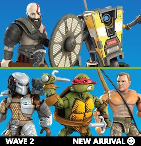 Mega Construx Heroes Wave 2 Set of 5 Figures