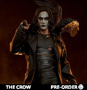 The Crow Premium Format Eric Draven Statue
