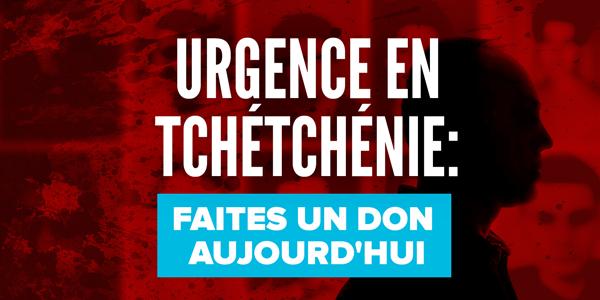 URGENCE EN TCHÉTCHÉNIE: FAITES UN DON AUJOURD'HUI