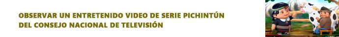 Observar un entretenido video de serie Pichintún del Consejo Nacional de Televisión