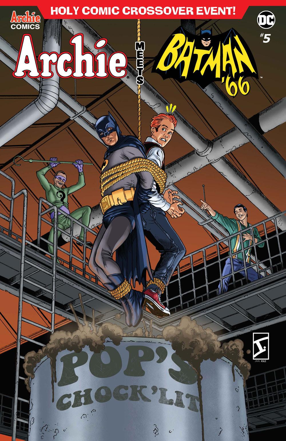 Archie Meets Batman '66 #5: CVR D Igle