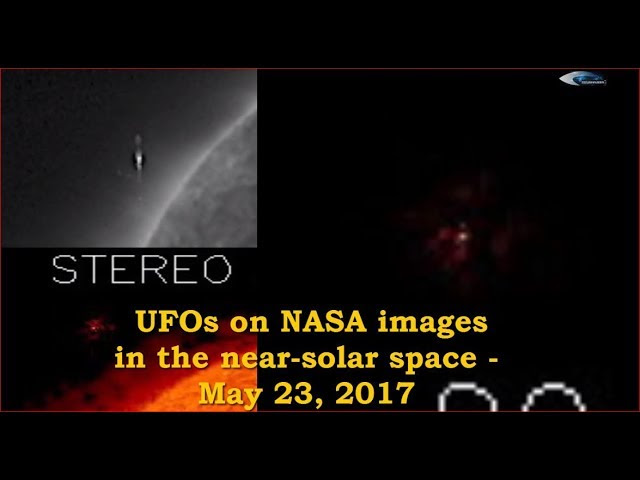 UFO News ~ UFOs on NASA images in the near-solar space plus MORE Sddefault