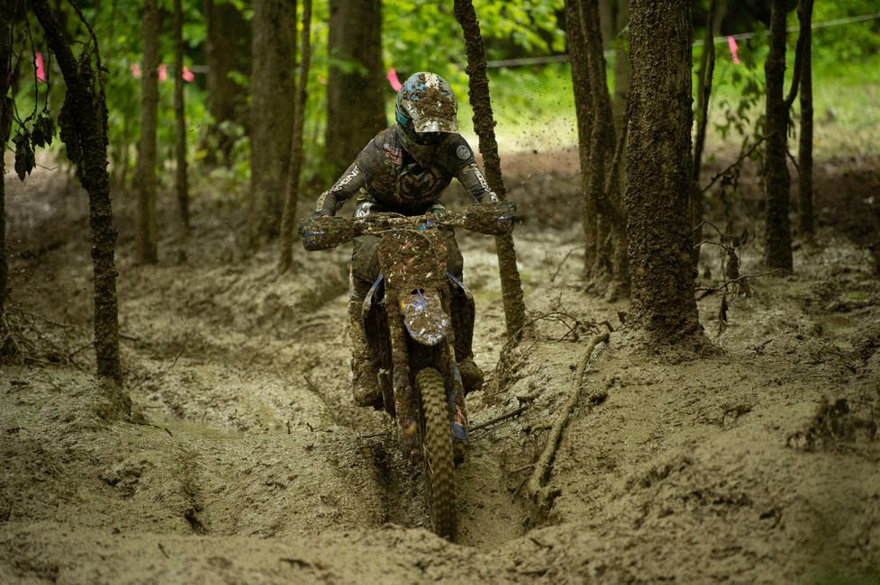 Ricky Russell earned fifth in the XC1 class and sixth overall at the Tomahawk GNCC.