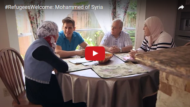 YouTube Embedded Video: #RefugeesWelcome: Mohammed of Syria