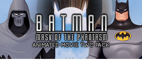 BATMAN MASK OF THE PHANTASM TWO PACK