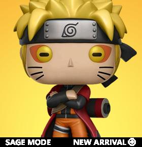 Pop! Animation: Naruto: Shippuden - Naruto (Sage Mode) Exclusive