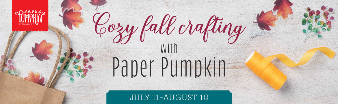 Sign up by August 10th to get this next exclusive Paper Pumpkin Kit! The August 2019 kit includes supplies to make 6 autumn-themed gift boxes and 12 gift tags. AND Once you have completed the August kit, you will have extra kit components so you can easily combine them with the Gift of Fall optional add-on bundle (purchased separately) to make 24 cards (with coordinating envelopes) without having to purchase additional kits. #onestopbox #stampyourartout #stampinup - Stampin' Up!® - Stamp Your Art Out! www.stampyourartout.com