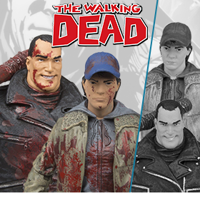 THE WALKING DEAD EXCLUSIVE FIGURE – NEGAN & GLENN TWO-PACK
