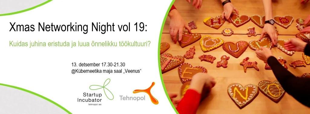 Xmas Networking Night vol 19