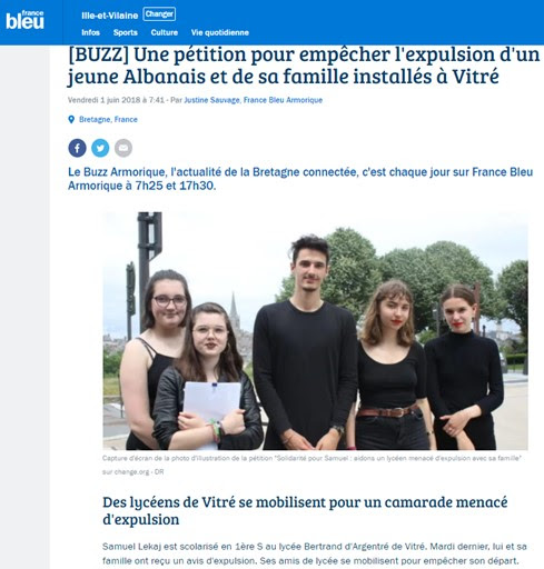 Pétition buzz