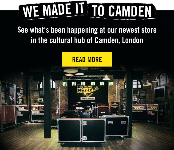 WE MADE IT TO CAMDEN - See what's been happening at our newest store in the cultural hub of Camden, London - HEAD TO THE BLOG