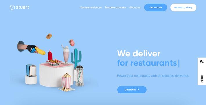 Тренды в веб-дизайне 2020: 3D изображения