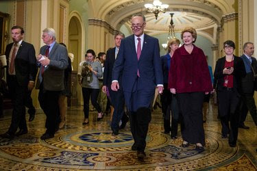 Senator Chuck Schumer of New York, the incoming minority leader, said he is ready to fight Republicans on changes to Medicare.