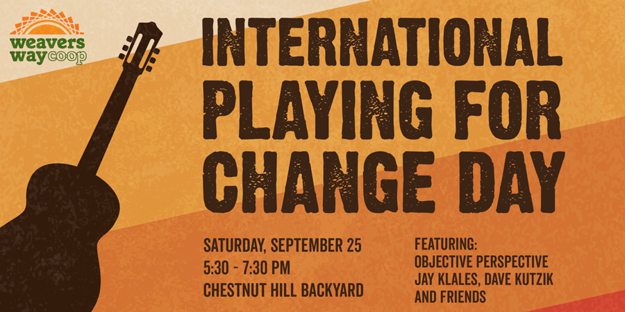Playing 4 Change Concert in CH