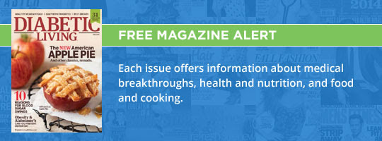 Free Magazine Alert: Diabetic Living