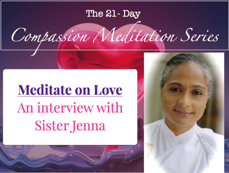 Video interview with Sister Jenna of the Meditation Museum
