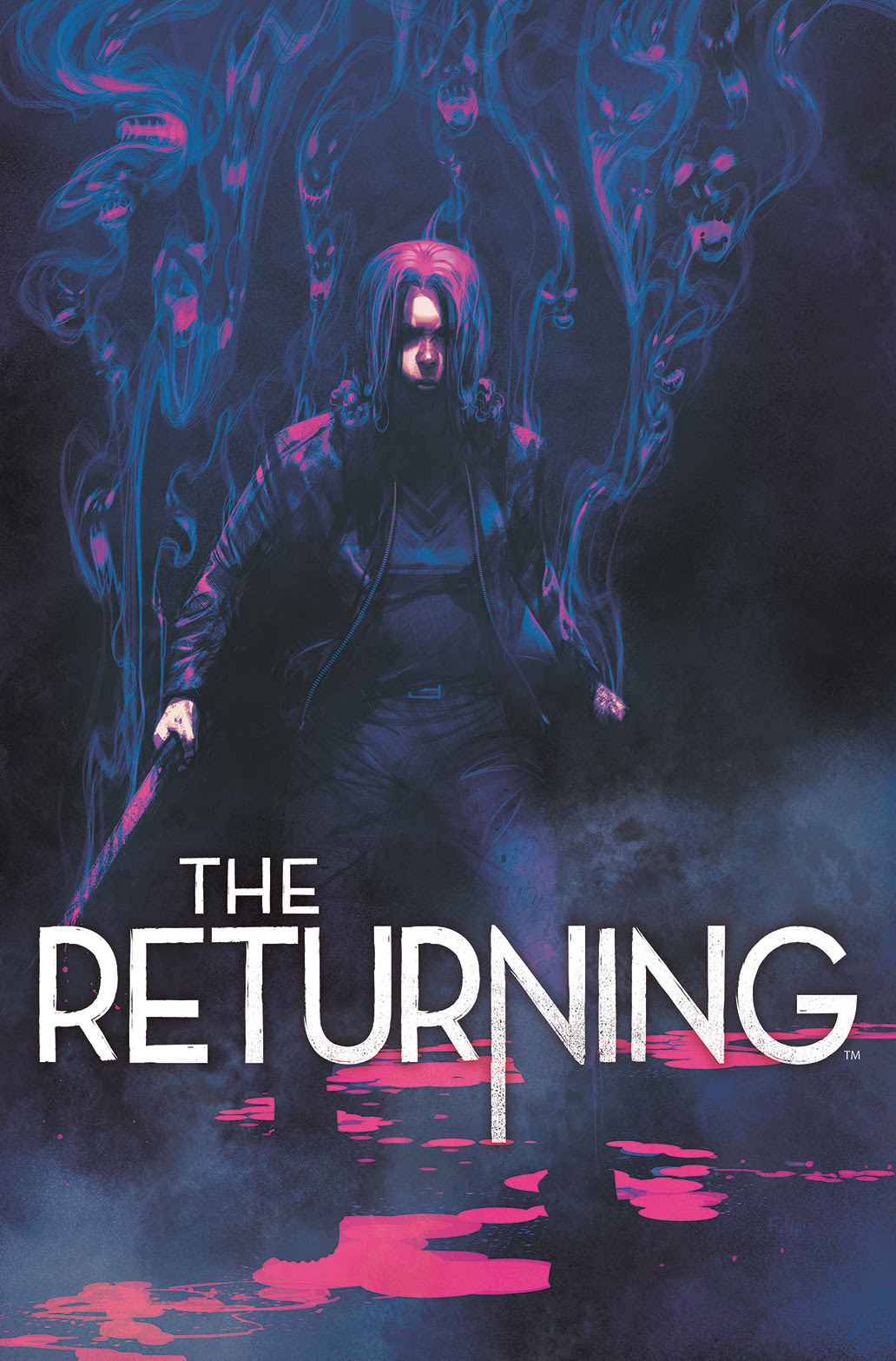 THE RETURNING #4 Cover by Frazer Irving