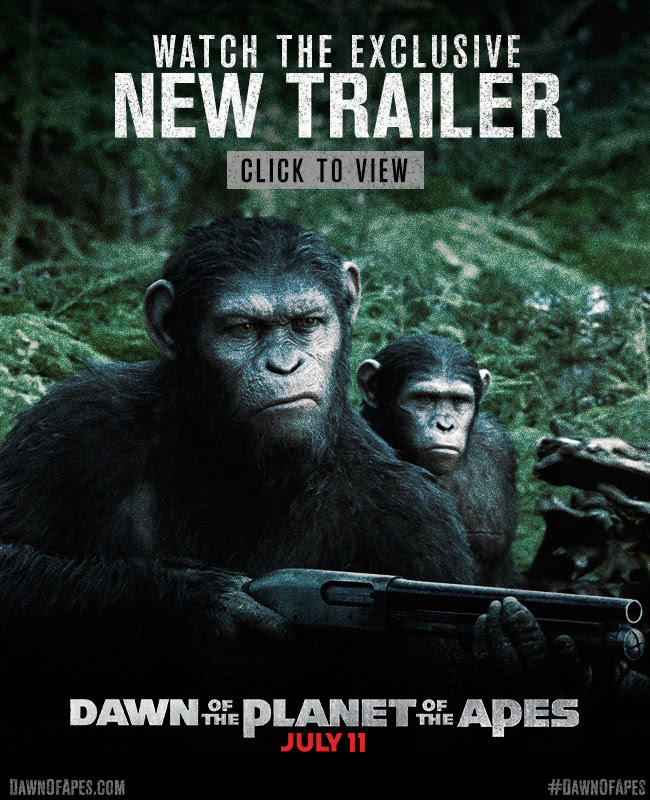 It's Here! Watch the Dawn of the Planet of the Apes Trailer Now