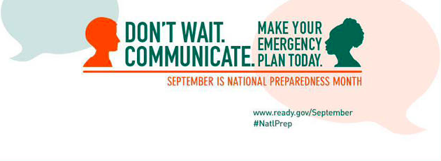 Be Disaster Ready by Making a Plan http://www.ready.gov/make-a-plan