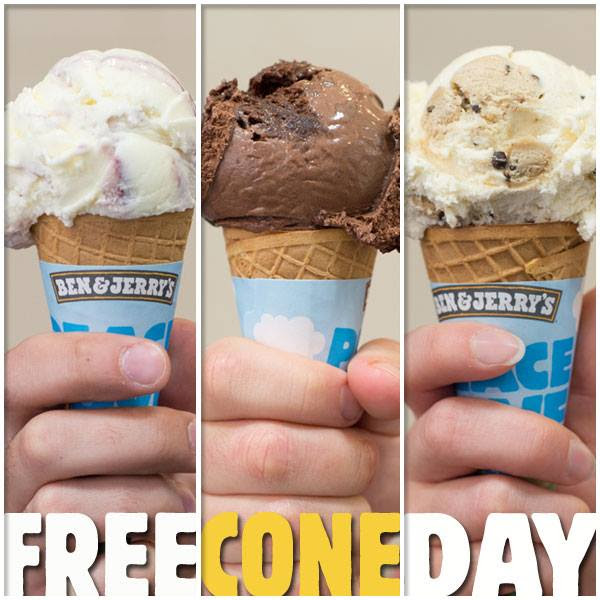free-cone-day